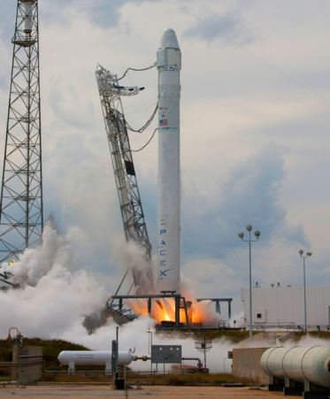 SpaceX e o retorno do Falcon 9 1