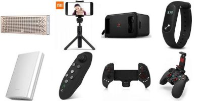 10 Best Gadgets (Xiaomi Mi Band, Selfie Stick, Power bankua)