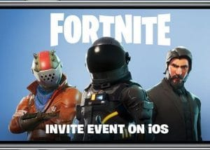 I-Fortnite Battle Royal izofinyelela kuma-Smartphones