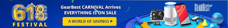 Gearbest 2018 GearBest Mid-Year Sales + Everything is onSale promotion